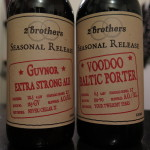 2 Brothers 'Guvnor' and 'Voodoo' (in my cellar, 23 September 2015)