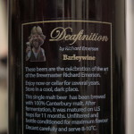 Emerson's 'Deafinition' Barleywine (in my cellar, 23 September 2015)