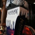 Alaskan Winter Ale, tap handle base (Malthouse, 2 July 2011)
