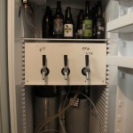 Baylands' three-tap kegerator