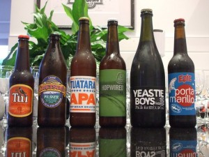 Beer 121 tasting session lineup