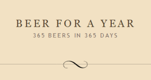 The Beer For A Year masthead