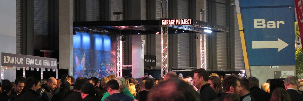 Garage Project bar (Beervana, 15 August 2015)