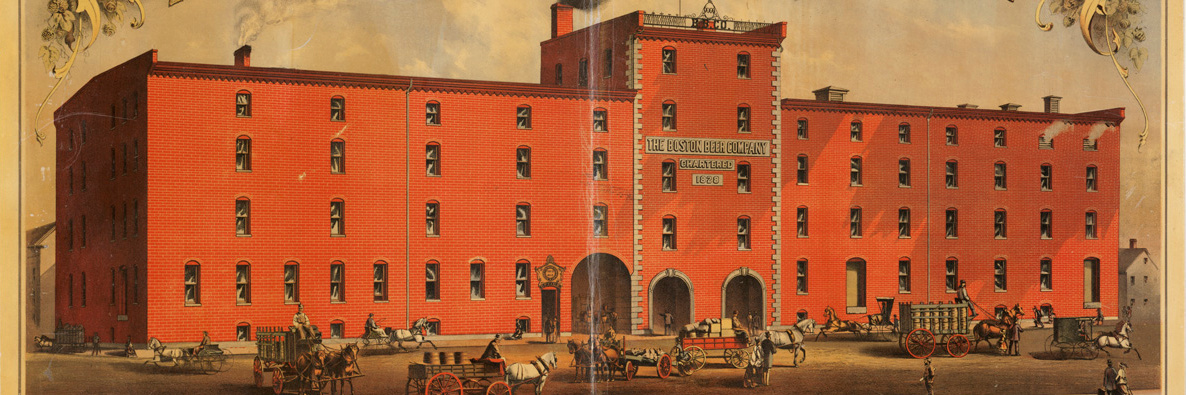 Boston Beer, circa 1880 (from Wikimedia Commons)