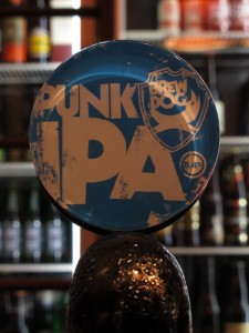 BrewDog 'Punk' IPA tap badge