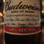Budweiser, ingredients