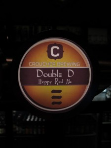 Croucher 'Double D', tap badge