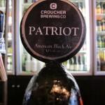 Croucher 'Patriot', tap badge