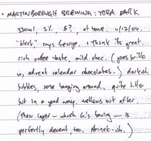 Martinborough 'Tora Dark'