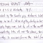 Jamieson 'Beast' IPA