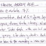 Malt Shovel Abbey Ale
