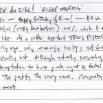 Diary II entry #125, Dieu du Ciel! 'Rigor Mortis'