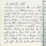 Diary III entry #69: A Midnight Maß