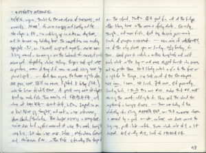 Diary III entry #98
