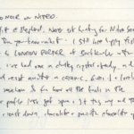 Diary III entry #118: Aro Noir on Nitro