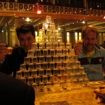 Friday night cup-stackers