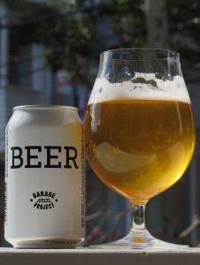 Garage Project 'Beer' (My house, 6 September 2015)