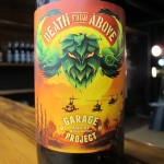 'Death From Above' bottle label