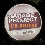 Garage Project 'L'il Red Rye' tap badge