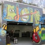 The Garage, exterior