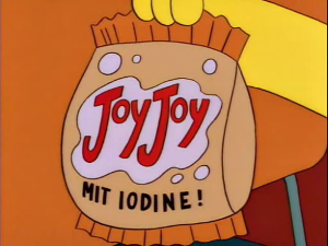 JoyJoy (Mit Iodine!) from The Simpsons s05e05 'Treehouse of Horror IV'