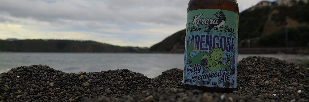 Kererū Karengose at the beach (25 January 2016)