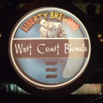 Liberty 'West Coast Blonde' tap badge