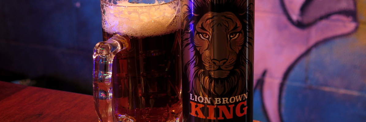 Lion Brown 'King' (at Golding's)