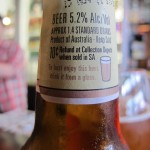 Little Creatures Pale Ale, serving suggestion