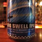 Maui 'Big Swell' IPA, tagline