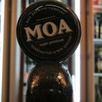 Moa, new tap badge
