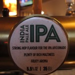 Monteith's IPA tap badge