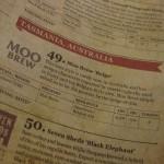 Moo Brew 'Belgo', tasting note