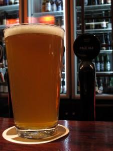 Moo Brew's non-Belgian Pale Ale