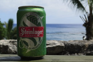 Niue Steinlager #10 (at Washaway Cafe, near the southern boat ramp)