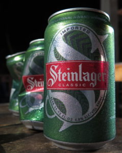 Steinlager #5 — with the ruins of #4, and one of Em's