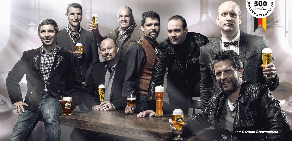 Screenshot from www.deutschesbier.com, a marketing effort from the Radeberger Gruppe