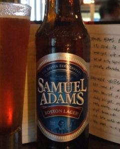 Sam Adams 'Boston Lager' (Malthouse, 10 November 2009)