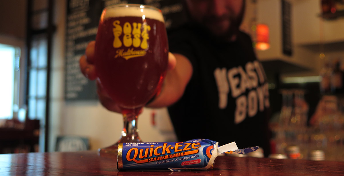 Complimentary Quick-Eze at Sour Fest (Malthouse, 17 March 2017)