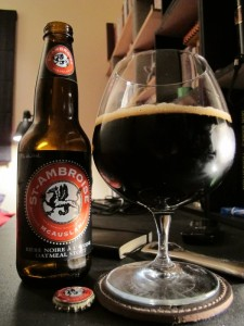 St-Ambroise Oatmeal Stout (My house, 8 May 2012)