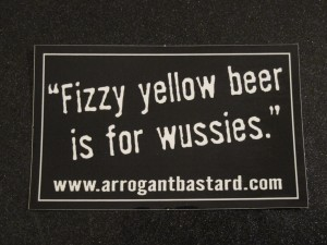 'Fizzy yellow beer...' (My house, 14 March 2014)