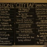 Stone Takeover taps (Malthouse, 13 March 2014)