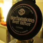Berhampore Best Bitter tap badge