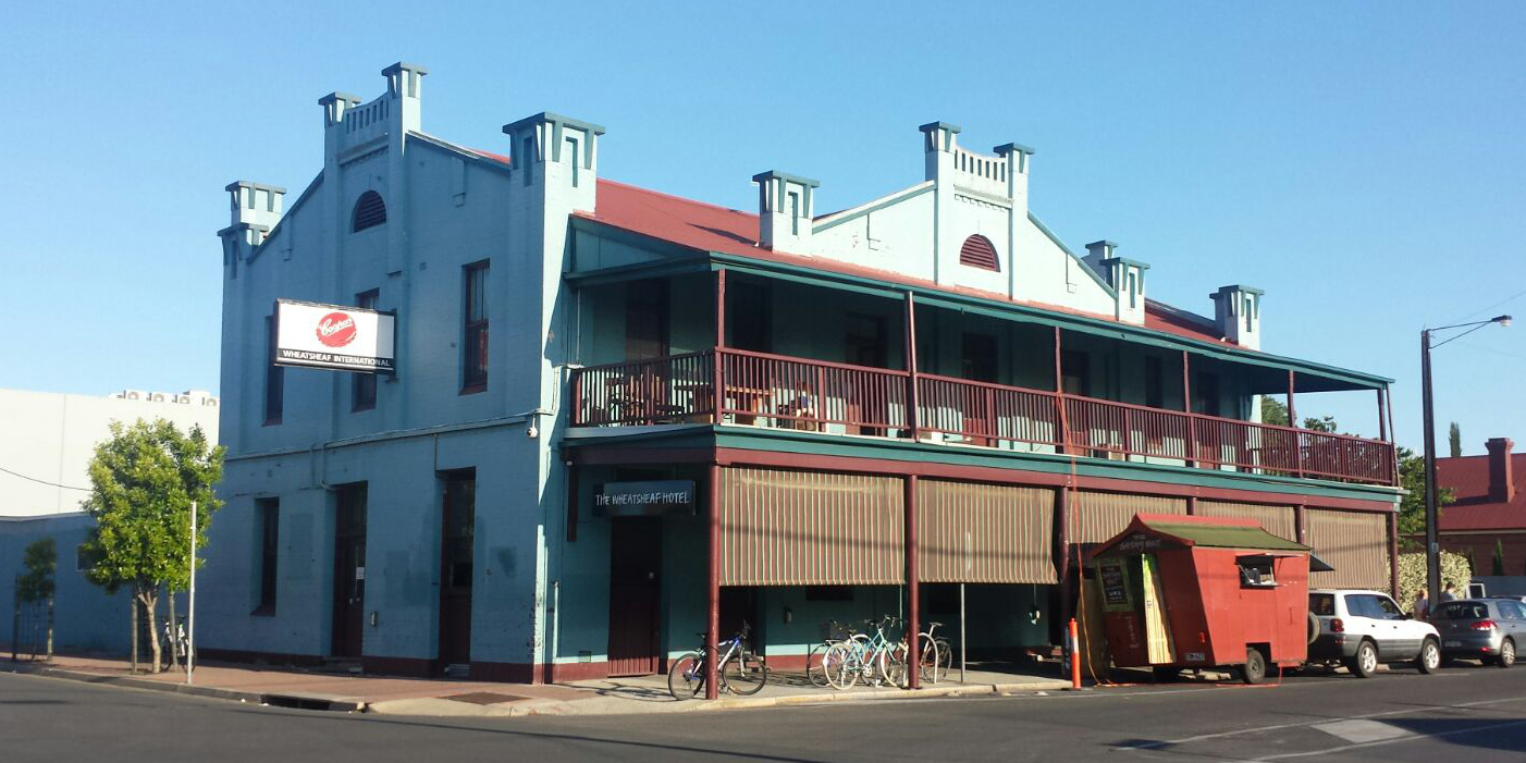 The Wheatsheaf, Adelaide (photo by Em, 8 November 2015)