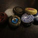 Trappist Dance Card, bottlecap trophies