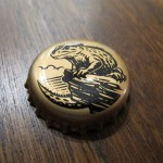 Tuatara's cute little Tuatara bottlecap