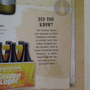 'Did you know'?, from The Ultimate Book of Beers (2014) — here under fair use for criticism / comment