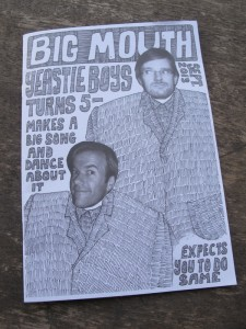 Yeastie Boys' Big Mouth Zine