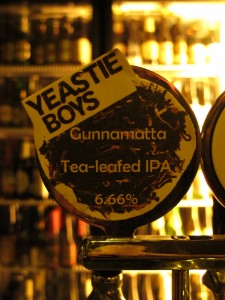 Yeastie Boys 'Gunnamatta', LBQ tap badge