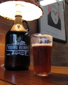 Young Henrys bar: Real Ale and Bill Murray (Newtown, Sydney, 28 December 2013)